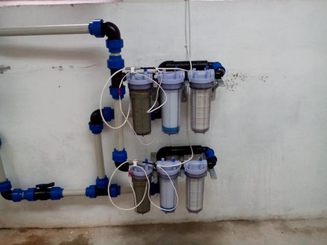 Система за обеззаразяване на питейна вода с дебит до 40 л/мин