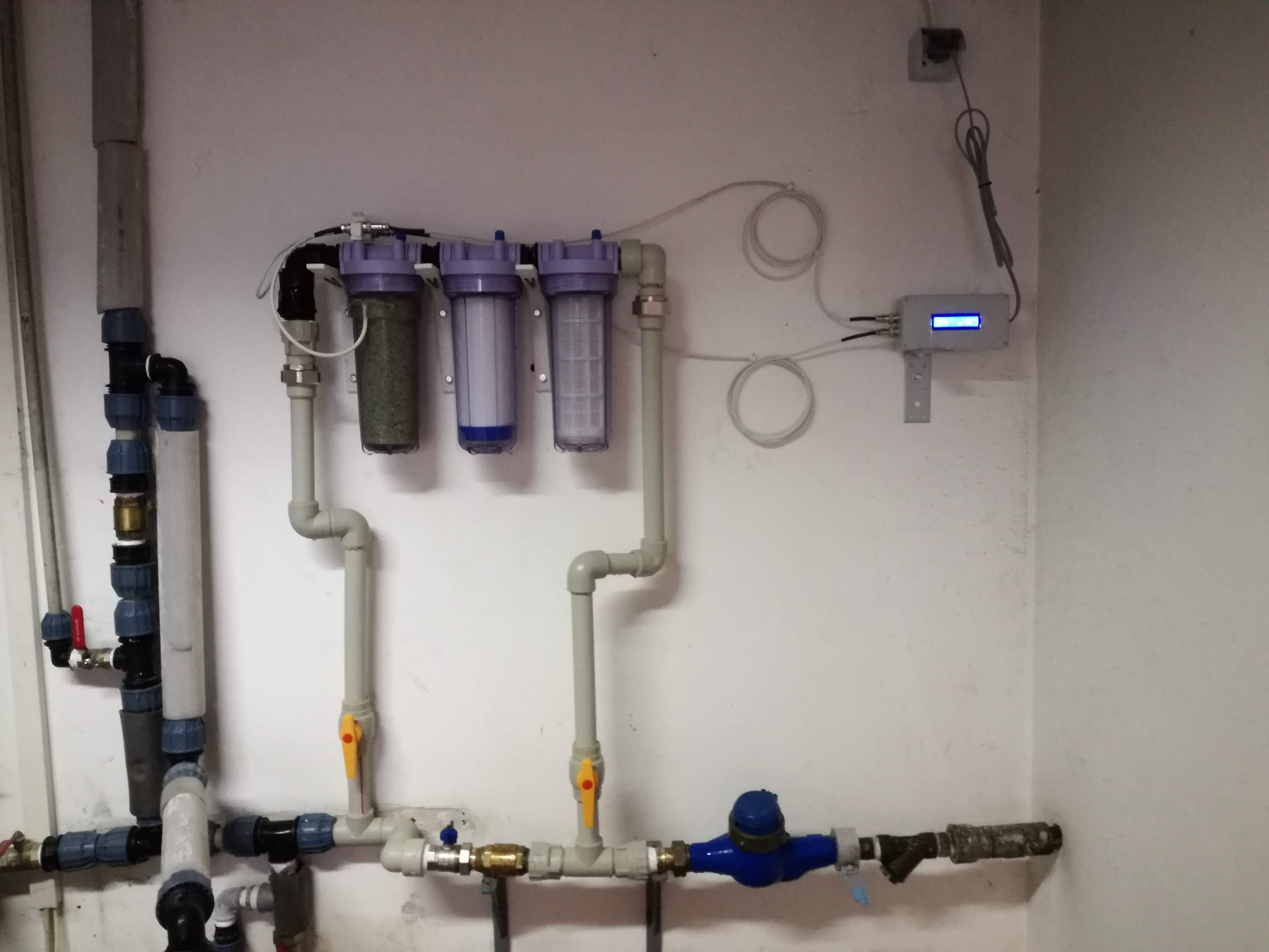 Система за обеззаразяване на питейна вода с дебит до 20 л/мин